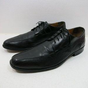 Johnston & Murphy Leather Split Top Oxfords 12 M